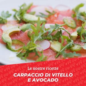 Settembre_Carpaccio vitello e avocado